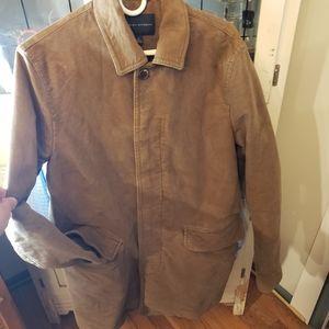 Banana Republic Brown Men's Coat/Jacket Size M